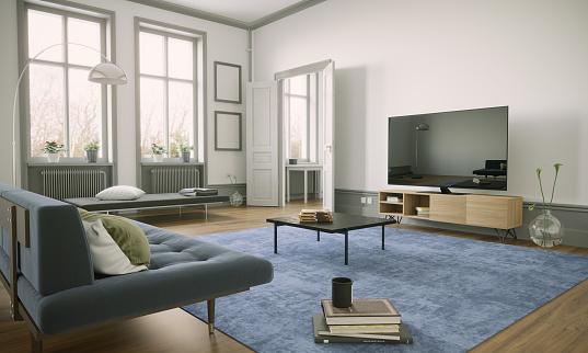 Coffee Table「Scandinavian Style Living Room Interior」:スマホ壁紙(15)