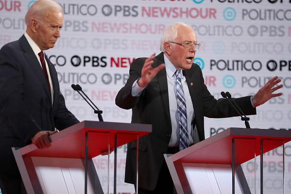 Justin Sullivan「Democratic Presidential Candidates Participate In Last Debate Of 2019」:写真・画像(9)[壁紙.com]