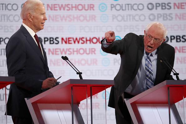 Justin Sullivan「Democratic Presidential Candidates Participate In Last Debate Of 2019」:写真・画像(15)[壁紙.com]