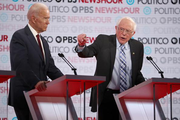 Justin Sullivan「Democratic Presidential Candidates Participate In Last Debate Of 2019」:写真・画像(16)[壁紙.com]