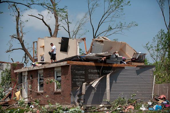 Ohio「Multiple Tornadoes  Cause Widespread Damage Around Dayton, Ohio」:写真・画像(4)[壁紙.com]