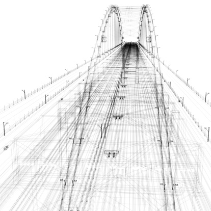 Cable「Bridge Wirefram」:スマホ壁紙(8)