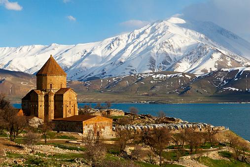 Akdamar Island「Armenian Church at Van lake, Turkey」:スマホ壁紙(1)