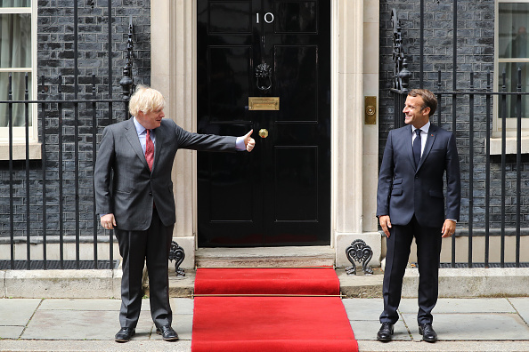 Diplomacy「President Macron Visits The UK To Commemorate 80th Anniversary Of  The Appeal of The 18th June Speech.」:写真・画像(16)[壁紙.com]
