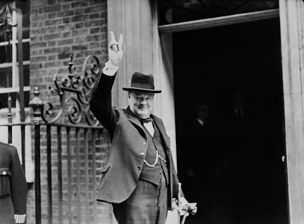 World War II「Churchill's V Sign」:写真・画像(10)[壁紙.com]