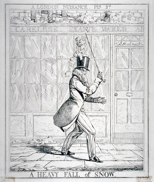 Misfortune「'A Heavy Fall of Snow', 1821. Artist: Richard Dighton」:写真・画像(3)[壁紙.com]