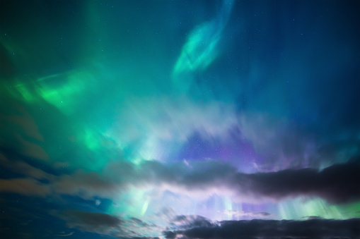 Geomagnetic Storm「Aurora Borealis Background」:スマホ壁紙(14)