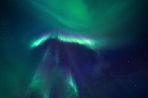 Geomagnetic Storm「Aurora Borealis Background」:スマホ壁紙(18)