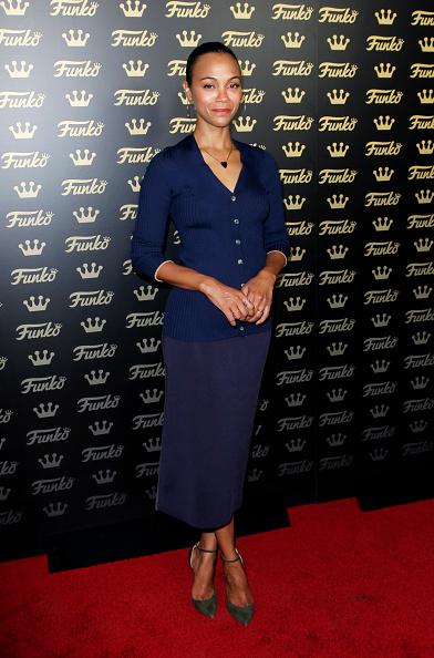 Zoe Saldana「Grand Opening Of Funko Hollywood - Arrivals」:写真・画像(10)[壁紙.com]