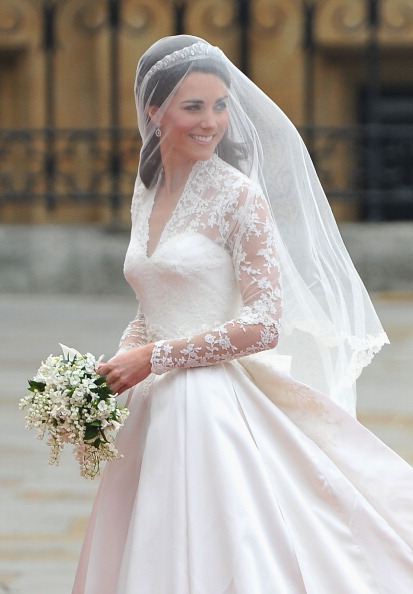 Bouquet「Royal Wedding - Wedding Guests And Party Make Their Way To Westminster Abbey」:写真・画像(1)[壁紙.com]