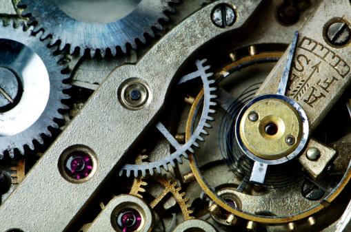Antique「Gears in Antique Watch」:スマホ壁紙(1)