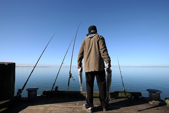 Fisherman「Aucklanders Make Most Of Sunny Weather At Cornwallis Peninsula」:写真・画像(2)[壁紙.com]