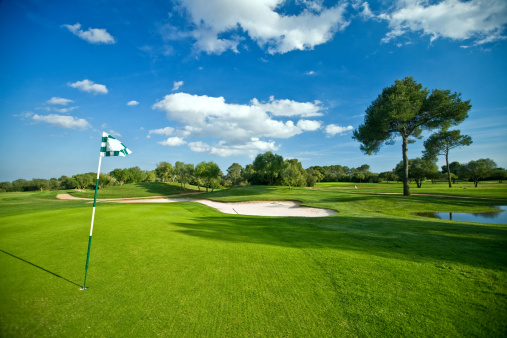 Golf Course「beautiful golf park」:スマホ壁紙(19)