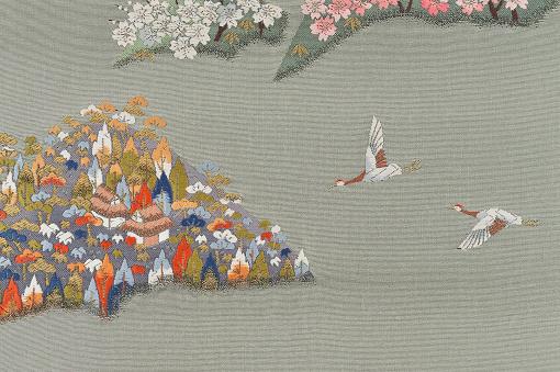 Kimono「The Japanese Kimono, close up」:スマホ壁紙(13)