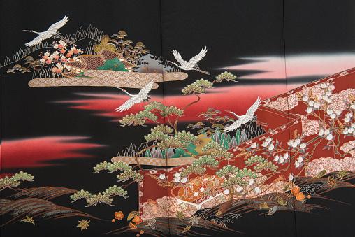 Kimono「The Japanese Kimono, close up」:スマホ壁紙(12)