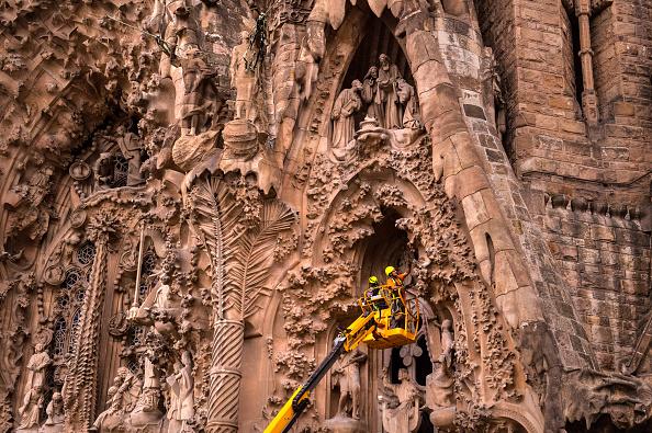 アントニ・ガウディ「Sagrada Familia Enters Final Construction Phase」:写真・画像(9)[壁紙.com]