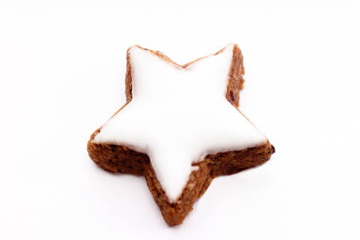 Glazed Food「Star-shaped cinnamon cookie」:スマホ壁紙(14)
