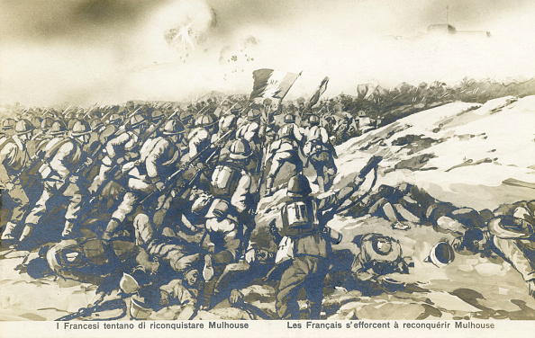 Mulhouse「World War 1:  The French push to retake Mulhouse」:写真・画像(3)[壁紙.com]