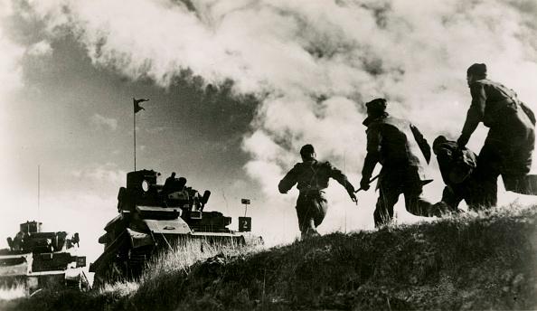 British Culture「World War 1: British cavalry tank exercises in France」:写真・画像(14)[壁紙.com]