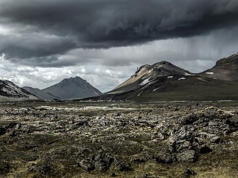 Approaching「Icelandic landscape, Iceland」:スマホ壁紙(2)