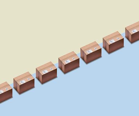 Growth「Parcels in a row」:スマホ壁紙(11)
