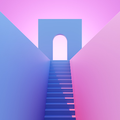 Arch - Architectural Feature「Steps leading to an arch」:スマホ壁紙(10)