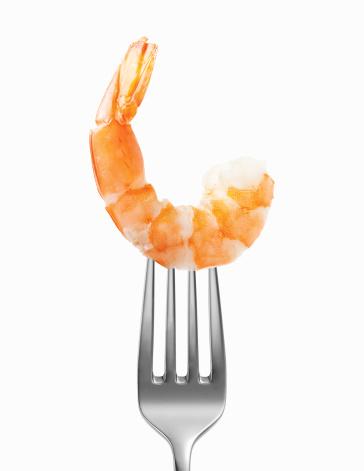 Seafood「Shrimp on a fork」:スマホ壁紙(4)
