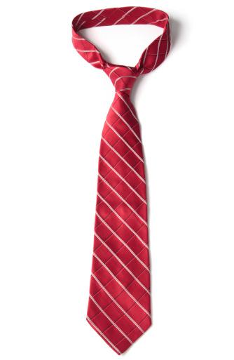 Well-dressed「Red Necktie on White」:スマホ壁紙(12)