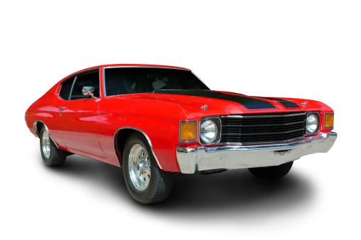 Hot Rod Car「Classic 1971 Chevelle Muscle Car」:スマホ壁紙(6)