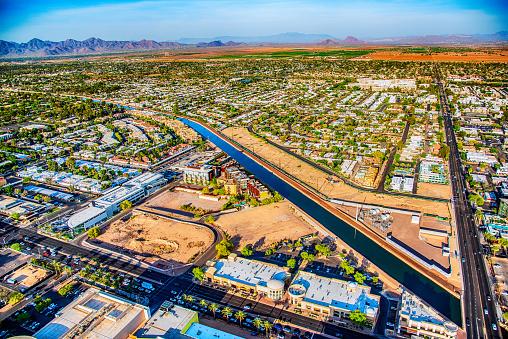 Canal「Phoenix Water Supply Desert Canal」:スマホ壁紙(15)