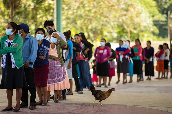 Mexico「Mexicans Go To Polls In Midterm Elections Amid Coronavirus and After Violent Campaign」:写真・画像(18)[壁紙.com]