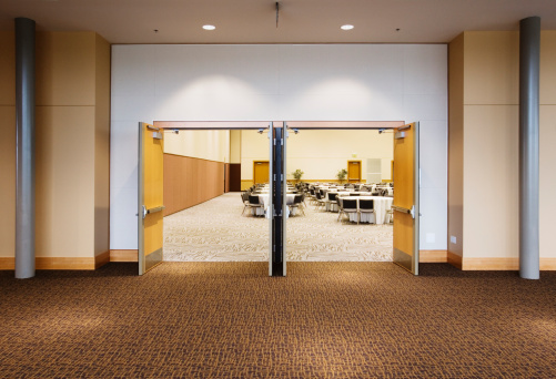 Convention Center「Double doors leading to large room in convention center」:スマホ壁紙(11)