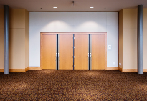 Convention Center「Double doors in convention center」:スマホ壁紙(2)
