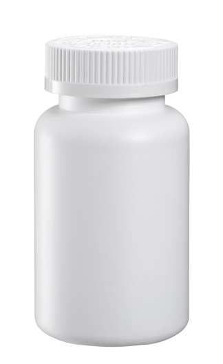 Pill Bottle「Blank Medicine Bottle」:スマホ壁紙(3)