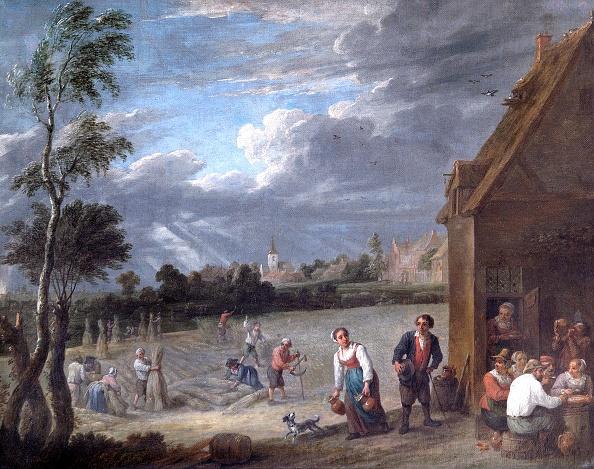 17th Century「A Harvest Scene,」:写真・画像(4)[壁紙.com]