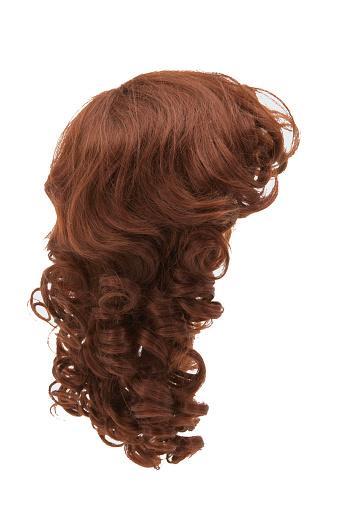 Brown Hair「Wig, side view」:スマホ壁紙(19)