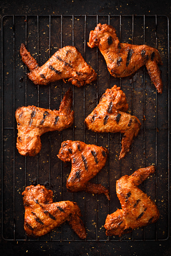 Chicken Wing「Barbecue grilled chicken wings」:スマホ壁紙(10)