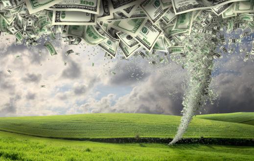 Extreme Weather「power of money」:スマホ壁紙(10)