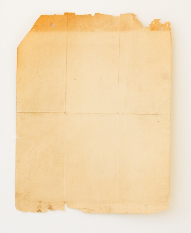 The Past「Old piece of paper with crease lines」:スマホ壁紙(1)