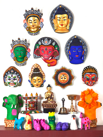 God「Thai wood figurines」:スマホ壁紙(7)
