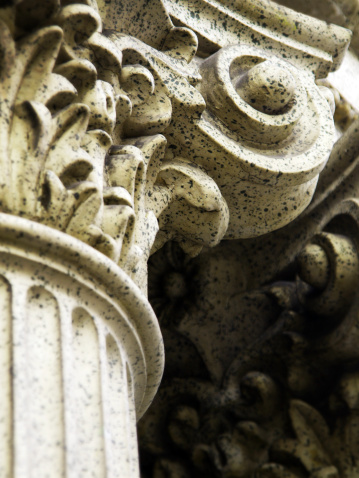 Ancient Civilization「Corinthian Column Detail」:スマホ壁紙(19)