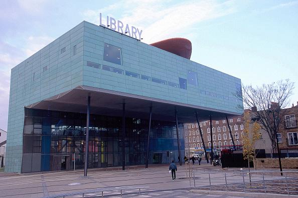 Square - Composition「Peckham Library, London. United Kingdom. Designed by Will Alsop.」:写真・画像(12)[壁紙.com]