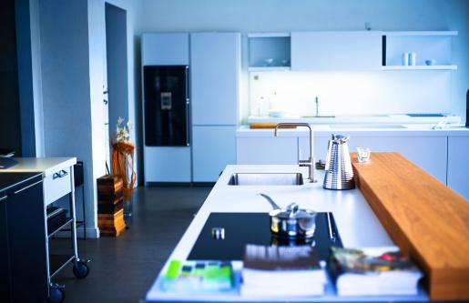 Home Addition「Empty new kitchen」:スマホ壁紙(3)