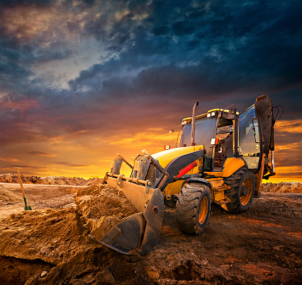 Earth Mover「Excavator」:スマホ壁紙(18)