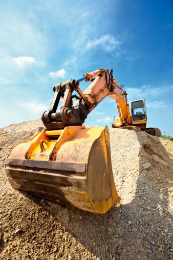 Digging「Excavator」:スマホ壁紙(5)