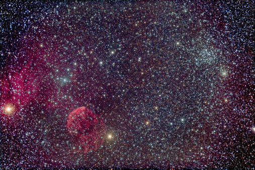 Supernova「The Jellyfish Nebula and associated nebulosity.」:スマホ壁紙(16)