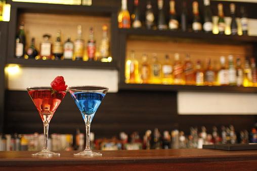 Cocktail「Albania, Tirana, Red and blue」:スマホ壁紙(8)