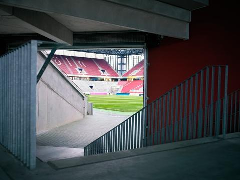 Stadium「Players entrance to soccer field」:スマホ壁紙(18)