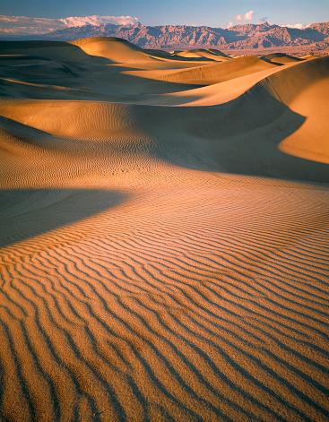 グレープバイン山「Sand Dunes in Death Valley」:スマホ壁紙(16)