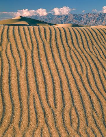 グレープバイン山「Sand Dunes at Death Valley」:スマホ壁紙(11)